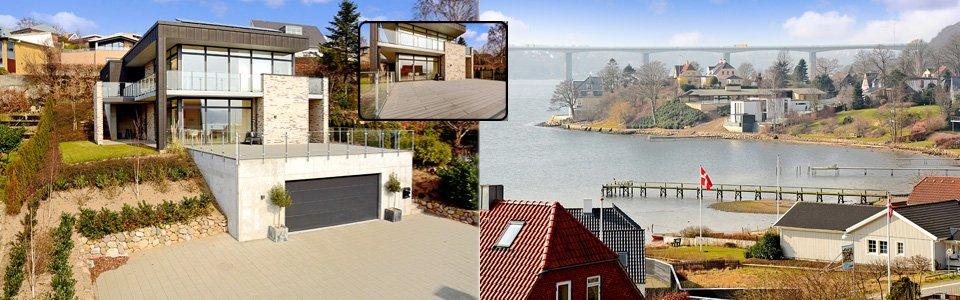 Udsigtsvilla med mulighed for bolig og erhverv